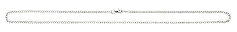 Mens Steel Curb Chain