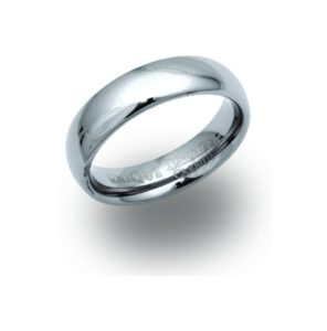 Tungsten Carbide Ring 6 mm Band