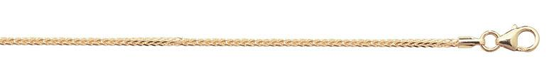 9ct Gold Spigea Chain Anklet