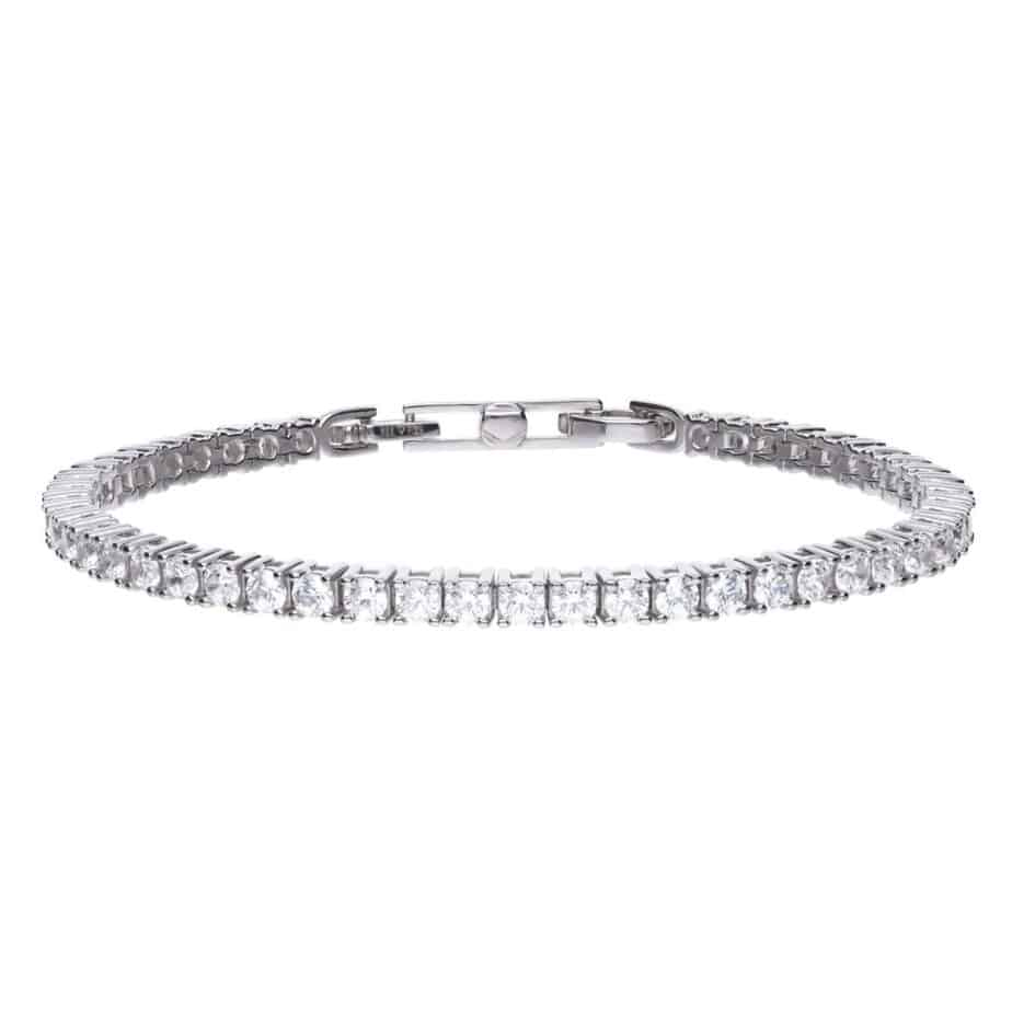 Silver Diamonfire Tennis Bracelet with Cubic Zirconia's