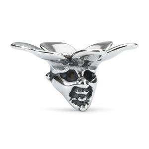 Troll of Wisdom silver bead