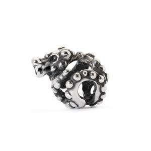 Trollbeads Shanghai Dragon silver bead for modern charm bracelets