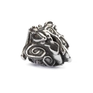 Trollbeads charm bead in sterling silver called Babylonian Nymph