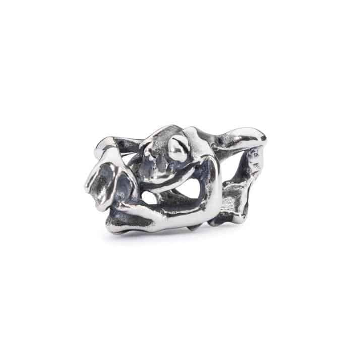 Trollbeads Climbing Frog silver bead