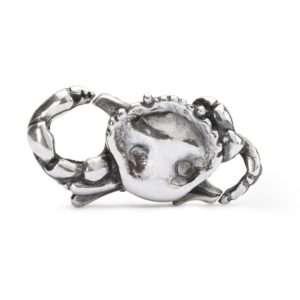 Trollbeads silver Crab Lock for a modern charm bracelet