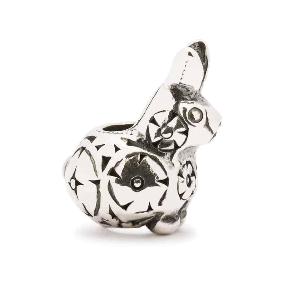 Trollbeads Decorative Rabbit silver bead