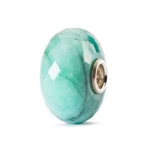 Trollbeads Emerald precious stone bead