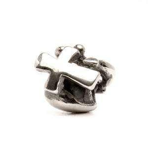 Trollbeads Faith, Hope & Charity silver bead