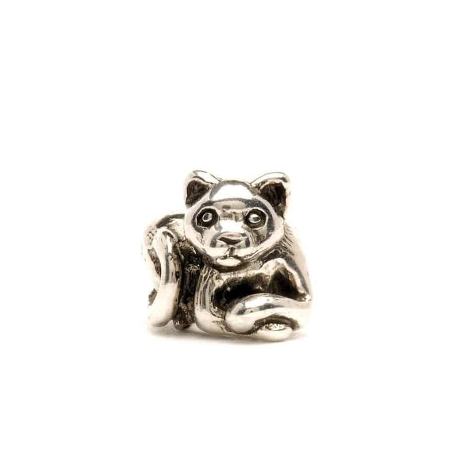 Trollbeads Kitten silver bead