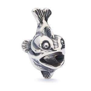Trollbeads Mermaid Companion silver bead