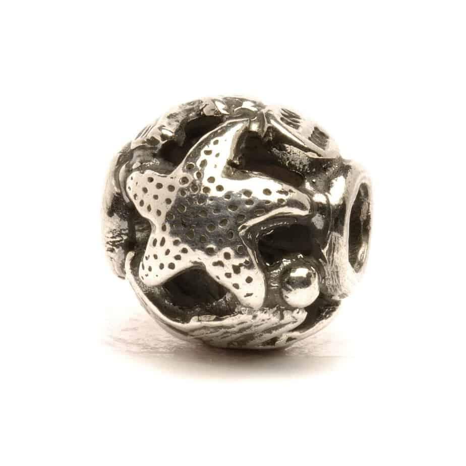 Trollbeads Ocean silver bead