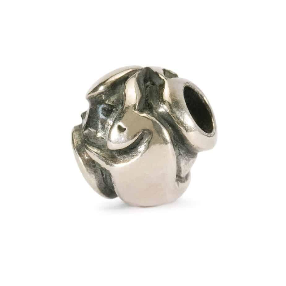 Trollbeads Taurus silver bead for modern charm bracelet