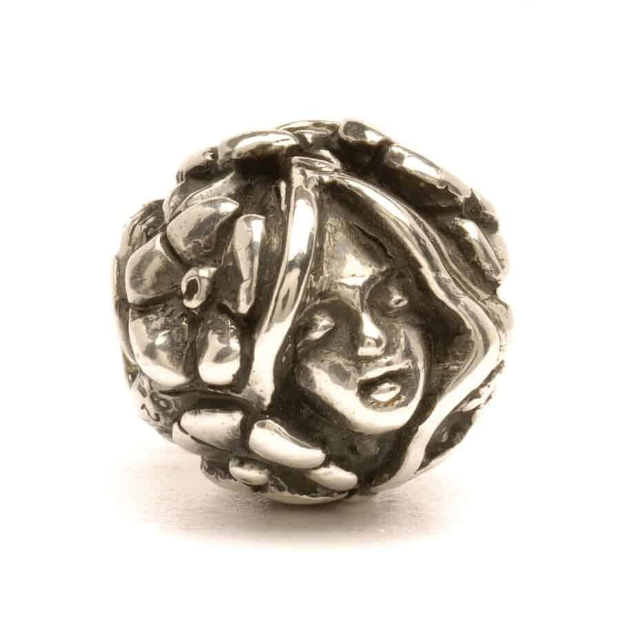Trollbeads Thumbelina silver bead for modern charm bracelet