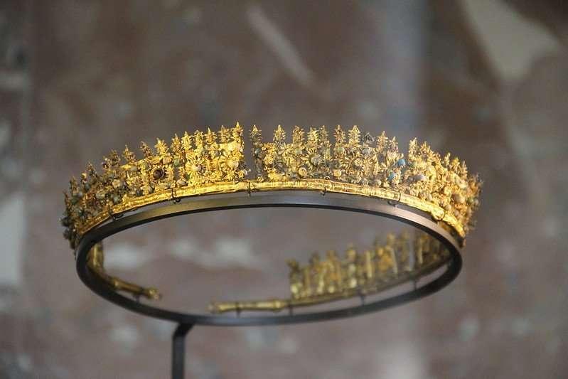 Hellanistic Greek Gold Diadem Gold Jewellery, 300-250 BC